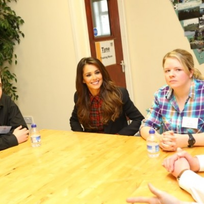 Hearing some inspirational stories from young people who've been supported by the Prince's Trust