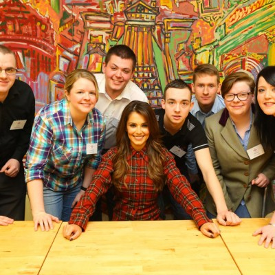 Cheryl's Trust and The Prince's Trust set to open a new centre in Newcastle.